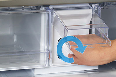 Samsung French Door Refrigerator Lock Water Filter