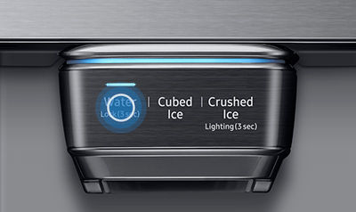 Samsung French Door Refrigerator Dispense Water