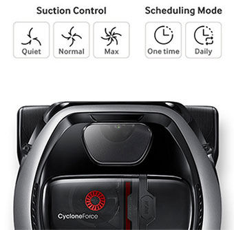 Samsung POWERbot VR7040 VR7070 VR7090 Setting a Schedule