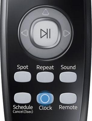 Samsung POWERbot VR7040 VR7070 VR7090 Remote Clock Press