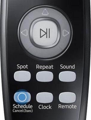 Samsung POWERbot VR7040 VR7070 VR7090 Remote Schedule Press