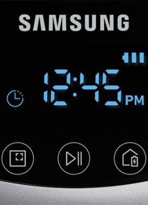 Samsung POWERbot VR7040 VR7070 VR7090 Display One-time Schedule