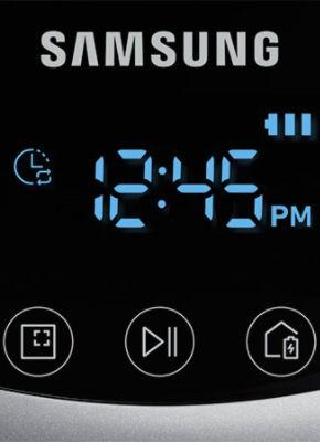 Samsung POWERbot VR7040 VR7070 VR7090 Display Daily Schedule