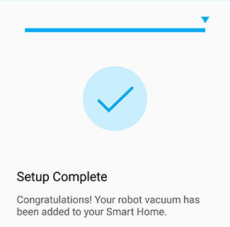 Samsung POWERbot Smart Home App Setup Complete