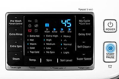 Samsung Washer Press Start Pause
