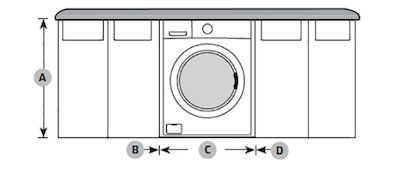 Samsung Front Load Washer Undercounter Installation