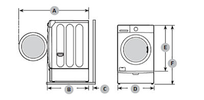 Samsung Front Load Washer Install on Pedestal