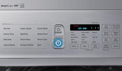 Samsung Washer Press Start Stop