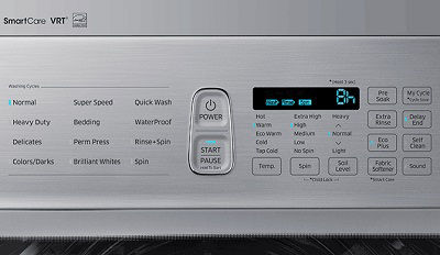Samsung Washer Delay Time Display