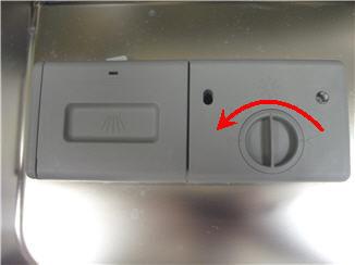 Samsung Dishwasher Turn Dispenser Knob
