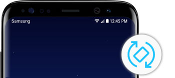 Samsung Galaxy S8 S8+ Screen Stop Rotate Automatically Portrait Landscape