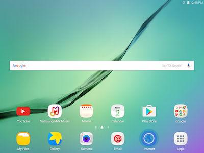 Samsung Galaxy Tab S2 Clearing Internet Browsing History