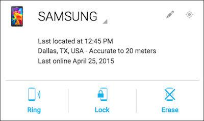 Samsung Interactive Dialog Box Displays in Corner