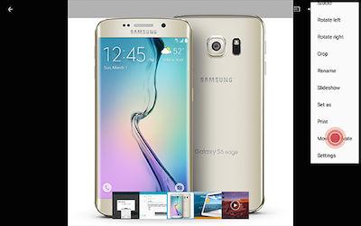 Samsung Galaxy Tab S Private Mode