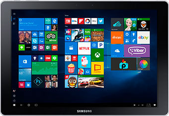 Samsung Galaxy Book Tablet Mode