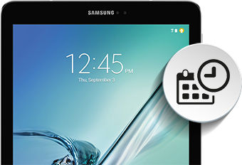 Samsung Automatic Date and Time
