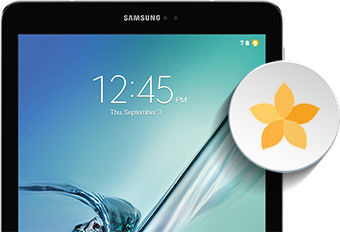 Samsung Galaxy Tab S2 Viewing Pictures