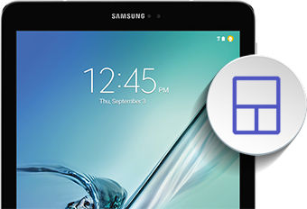 Samsung Galaxy Tab S2 Adding a Widget