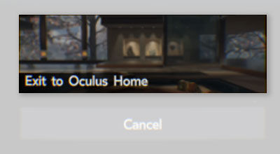 Samsung Exiting Apps Innovator Edition S6 Gear VR Exit App Exit to Oculus Home