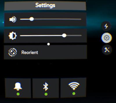 Samsung GearVR Universal Menu Settings Overview