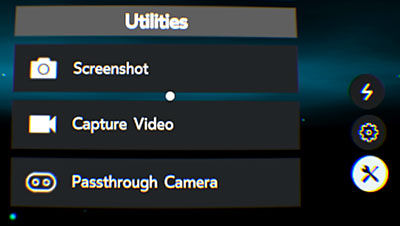 Samsung GearVR Universal Menu Utilities Overview