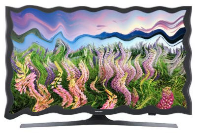 Distorted Image of TV