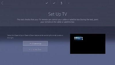 Samsung TV Setup