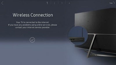 Samsung Wireless Connection