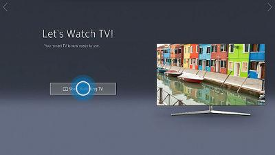Samsung TV Setup Complete