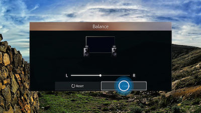 Samsung Adjust Balance