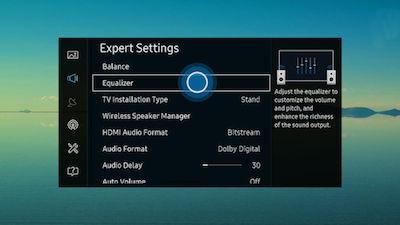 Samsung Select Equalizer