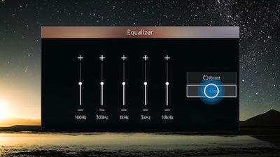 Samsung Adjust Equalizer