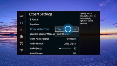 Samsung Select TV Configuration