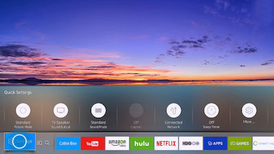 Tv Samsung Home Screen