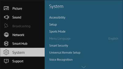 2015 4K SUHD TV_System