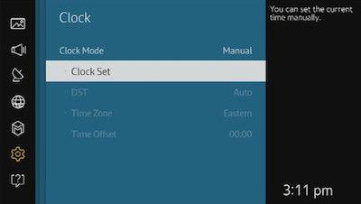Samsung Select Clock Set