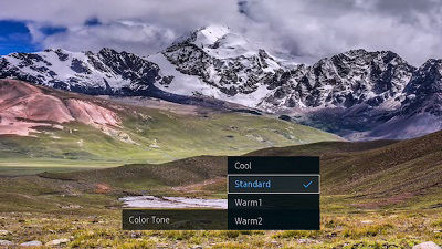 Samsung Photo Color Tone Options