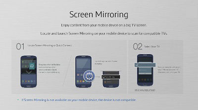 how to get phone screen on tv
