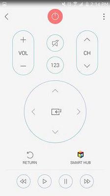 Samsung Smart View Remote