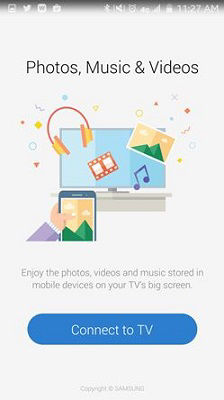 Samsung Select Connect to TV