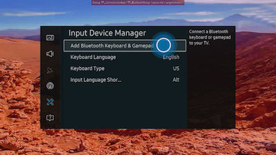 Samsung Smart TV Input Device Manager