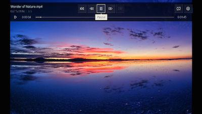 Samsung Media Screen
