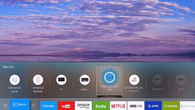 Samsung Smart Control USB Source Selection