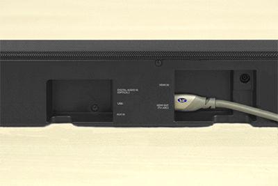 Samsung Soundbar HDMI TV-ARC Connection
