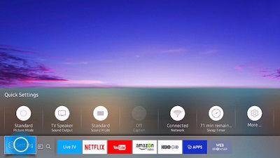 Samsung Select Settings