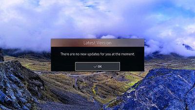 Samsung Follow On-Screen Instructions