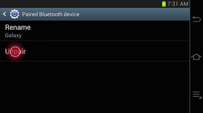 Samsung Galaxy Camera Bluetooth