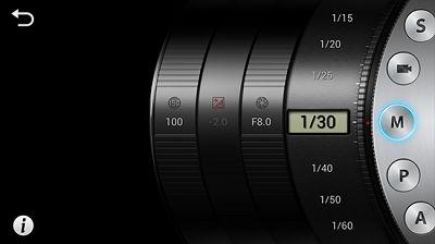Samsung Galaxy Camera Expert Mode
