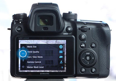 Samsung NX1 Camera Movie Quality Change