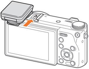 Samsung NX500 Camera External Flash Connect